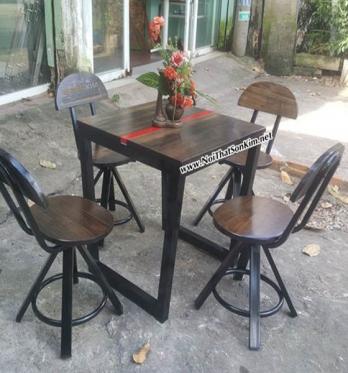 Bàn Ghế Cafe   Vintage Giả Cổ BGV02