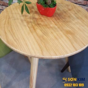 Bàn ghế gỗ quán cà phê BGC 58