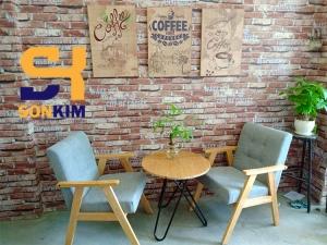 Bàn ghế cafe BGC71