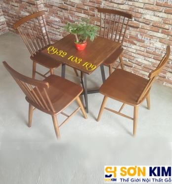 Bàn Ghế Cafe BGC45