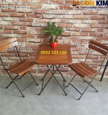 Bàn Ghế Cafe BGC30