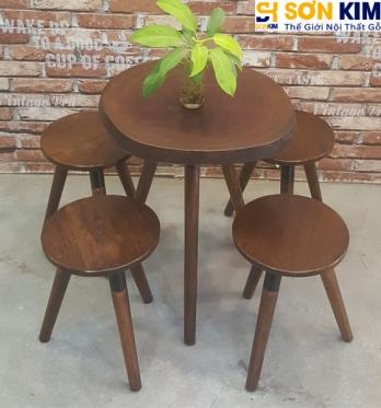 Bàn Ghế Cafe BGC54