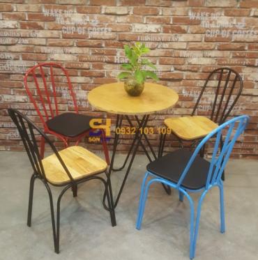 Bàn ghế cà phê BGC67