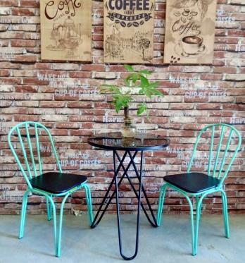 Bàn ghế cafe BGC73
