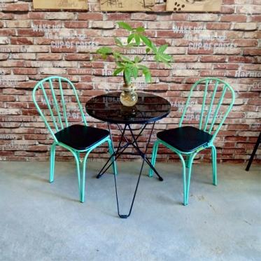 Bàn ghế cafe BGC74