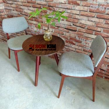 Bàn ghế cafe BGC75