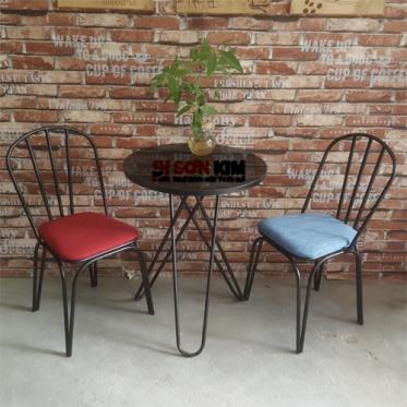 Bàn ghế cafe BGC76