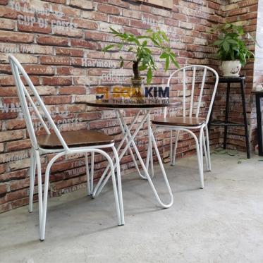 Bàn ghế cafe BGC77