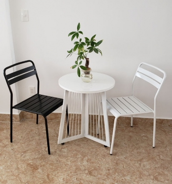 Bàn ghế cafe BGC80