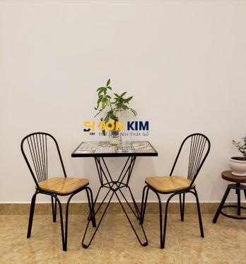 Bàn ghế cafe BGC83