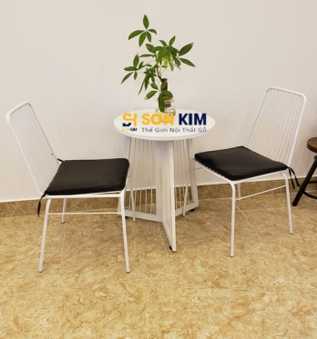 Bàn ghế Cafe BGC86