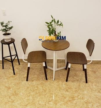 Mẫu bàn ghế cafe BGC88
