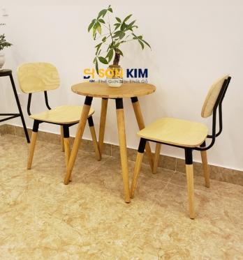 Mẫu bàn ghế cafe BGC89
