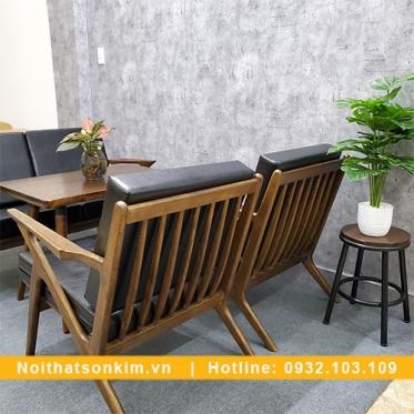 Bàn Ghế Cafe Gỗ BGC133