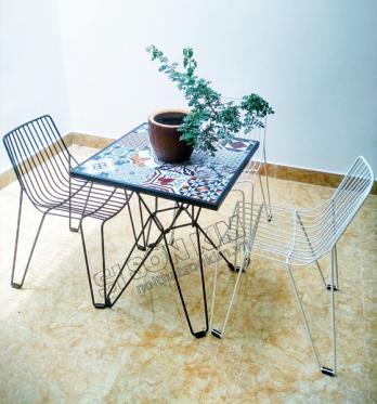 Mẫu bàn ghế cafe BGC94