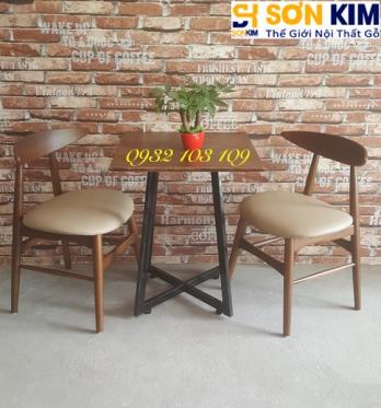 Bàn ghế cafe BGC43