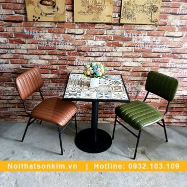Bàn Ghế Quán Cafe BGC124