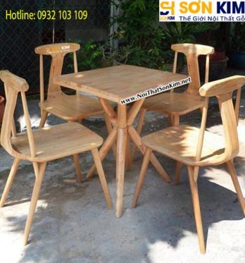 Mẫu Bàn Ghế Cafe Đẹp BGC23 Tp. HCM