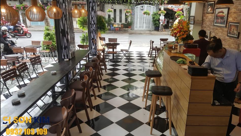 bàn ghế cà phê dự án quán cafe  Gcoffe