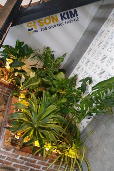 góc nhỏ dưới cầu thang là tiểu cảnh giúp gần gũi với thiên nhiên