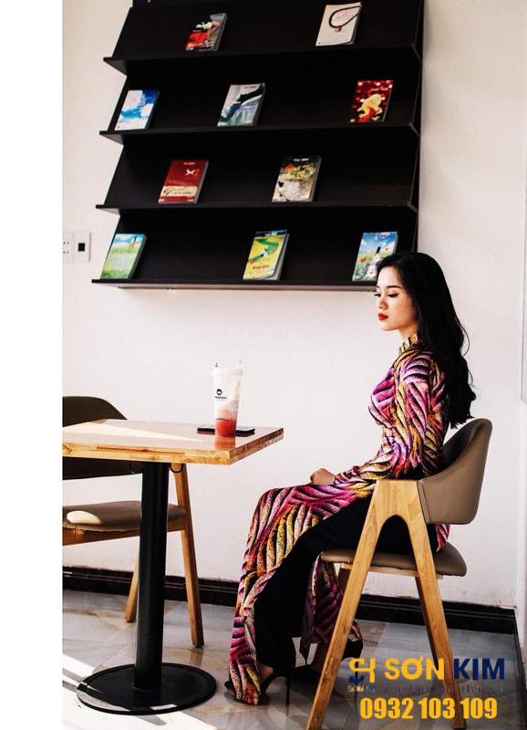 bàn ghế quán trà sữa, công trình royal tea