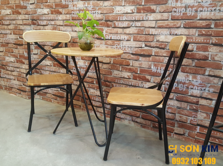 bộ bàn ghế cafe bgc61