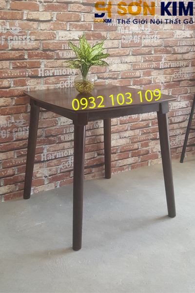 bàn gỗ cafe bc06