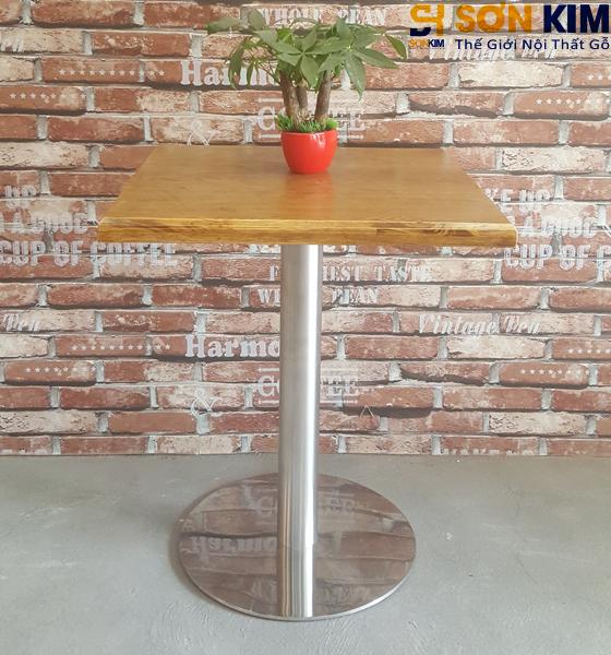 Bàn Ghế Gỗ Cafe BC13 - Xu hướng cho quán cafe 2018