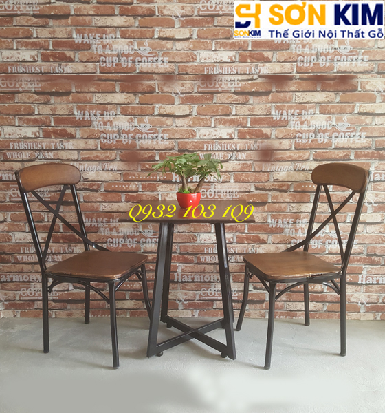 Bộ bàn ghế cafe BGC42