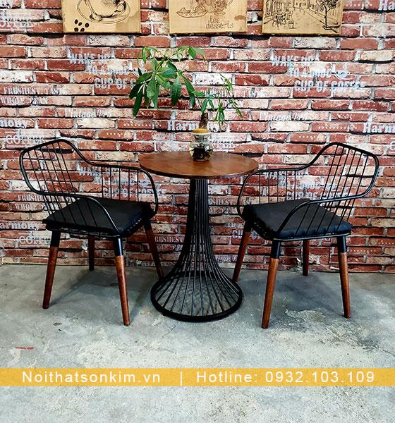 Bàn Ghế Cafe Sắt đẹp giá rẻ