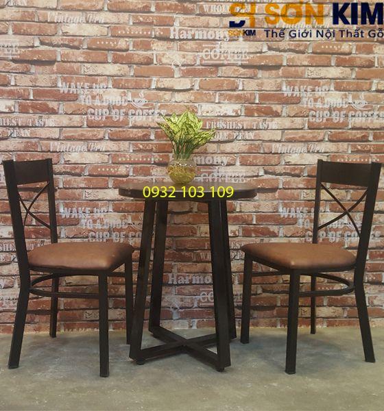 Bàn Ghế Cafe Giá Rẻ TPHCM BGC32