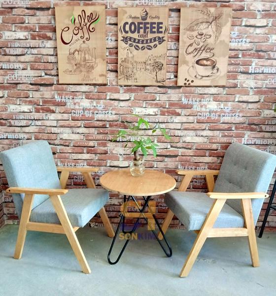 Bàn Ghế Quán Cafe BGC71