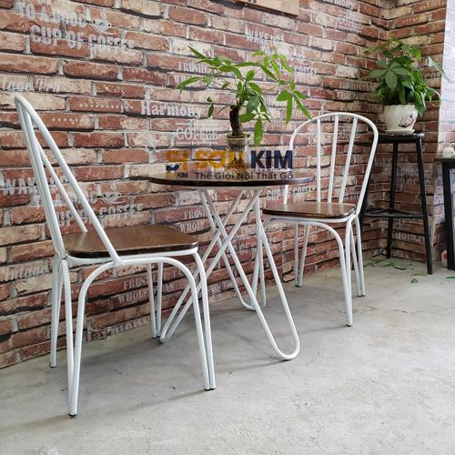 bộ bàn ghế cafe bgc77