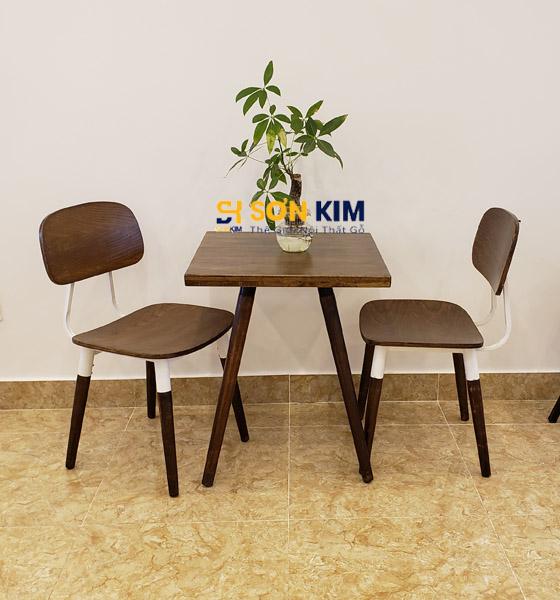 Bàn ghế cafe BGC85