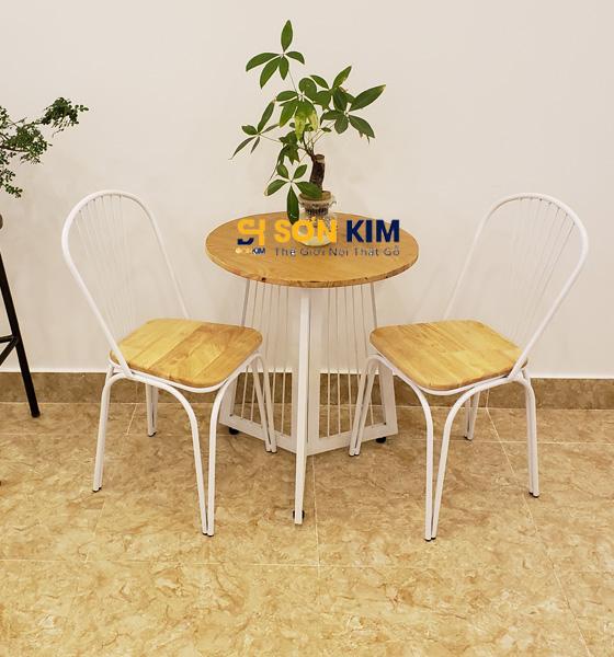 Mẫu bàn ghế cafe BGC87