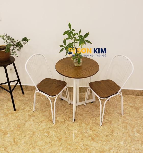 Mẫu bàn ghế cafe BGC90