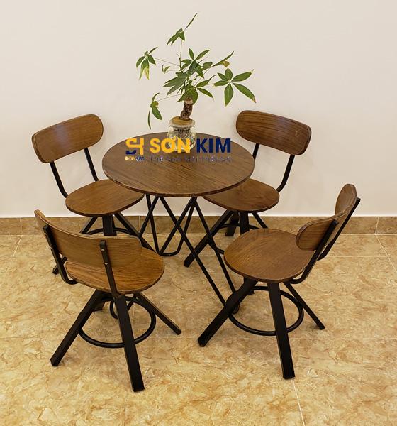 Mẫu bàn ghế cafe BGC91