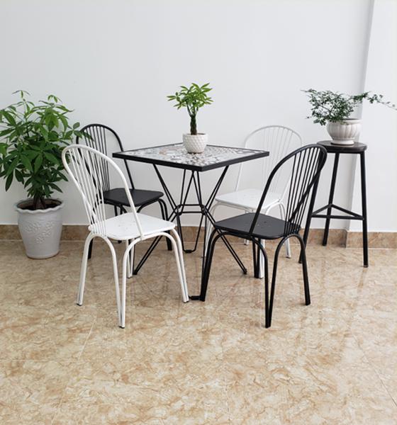 Mẫu bàn ghế cafe BGC97