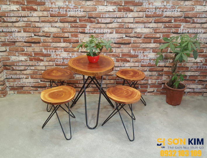 bộ bàn ghế cafe bgc62