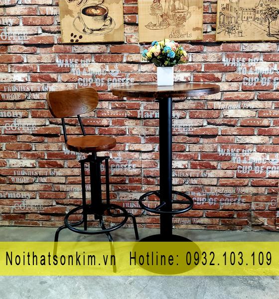 Bàn ghế cafe sắt | Bàn ghế cà phê sắt | Bàn ghế cafe khung sắt