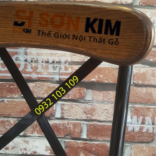 Hình 3: Ghế Cafe GC37 Giá Rẻ.