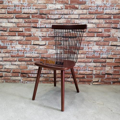 ghế gỗ quán cafe gc58
