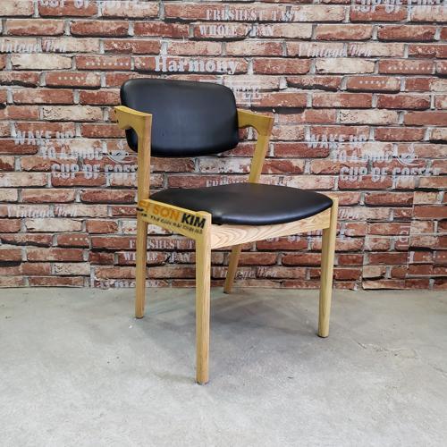 ghế gỗ quán cafe gc57