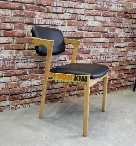 Ghế gỗ cho quán cafe GC57
