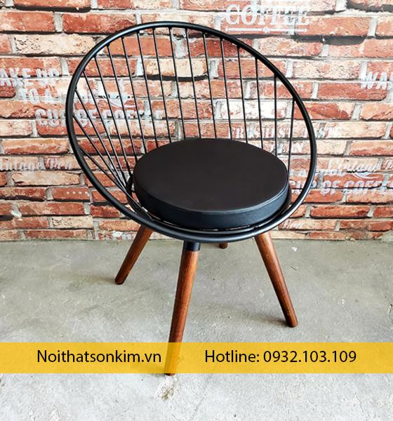 Ghế cafe sắt ngoài trời giá rẻ | Ghế cà phê sắt