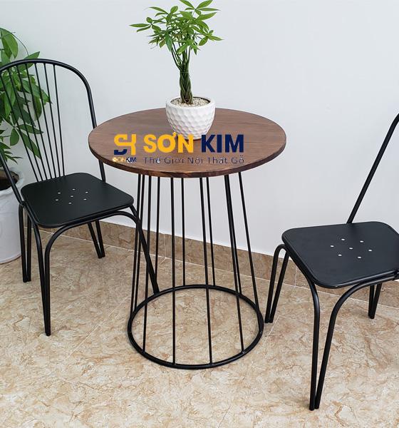 Mẫu bàn ghế cafe mới nhất BGC95