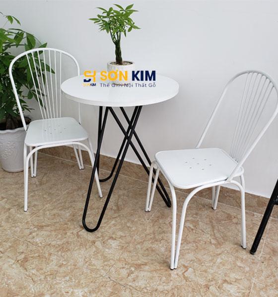 Mẫu bàn ghế cafe BGC98