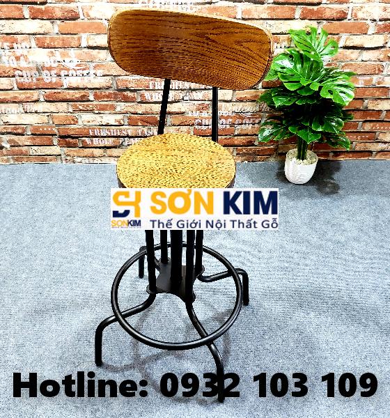 Ghế Cafe Cao Chân Sắt GC73